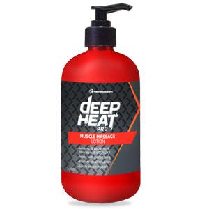 Deep Heat Massage Lotion