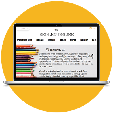 Skolen Online: Læringsplatform