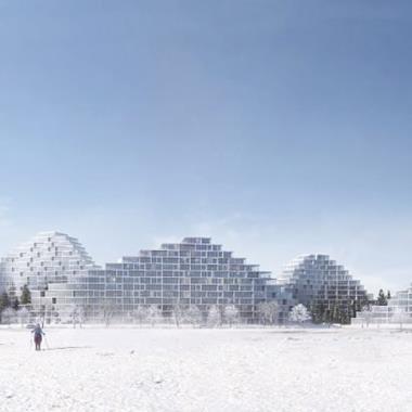 EFFEKT proposes Bratislava housing scheme modelled on a mountain range