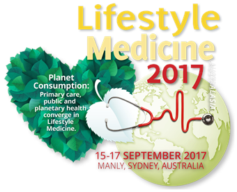 Logo for Livestyle Medicine 2017 conference.