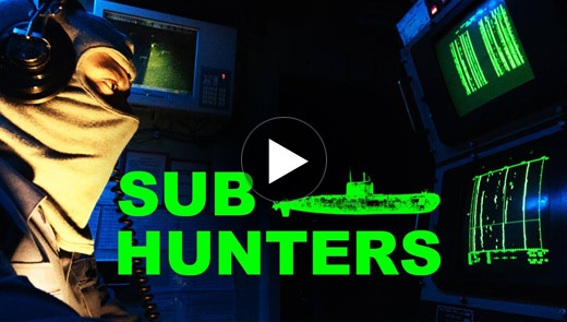 The sub hunters: guarding against undersea threats