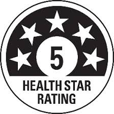 Health Star Rating symbol.